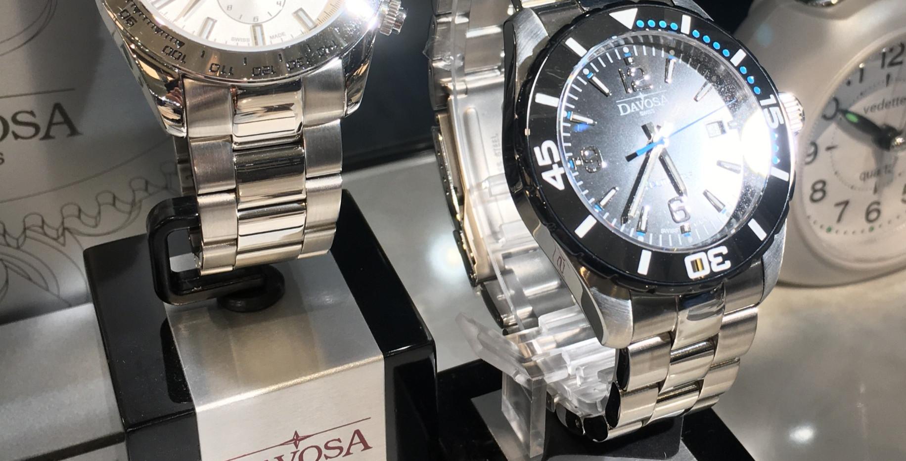 Davosa, quartz chrono. 399€-299€