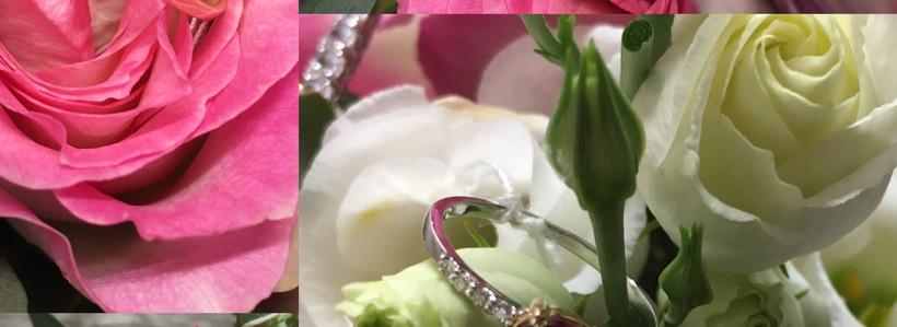 Montage, bagues Mariage diamants, rubis.or!