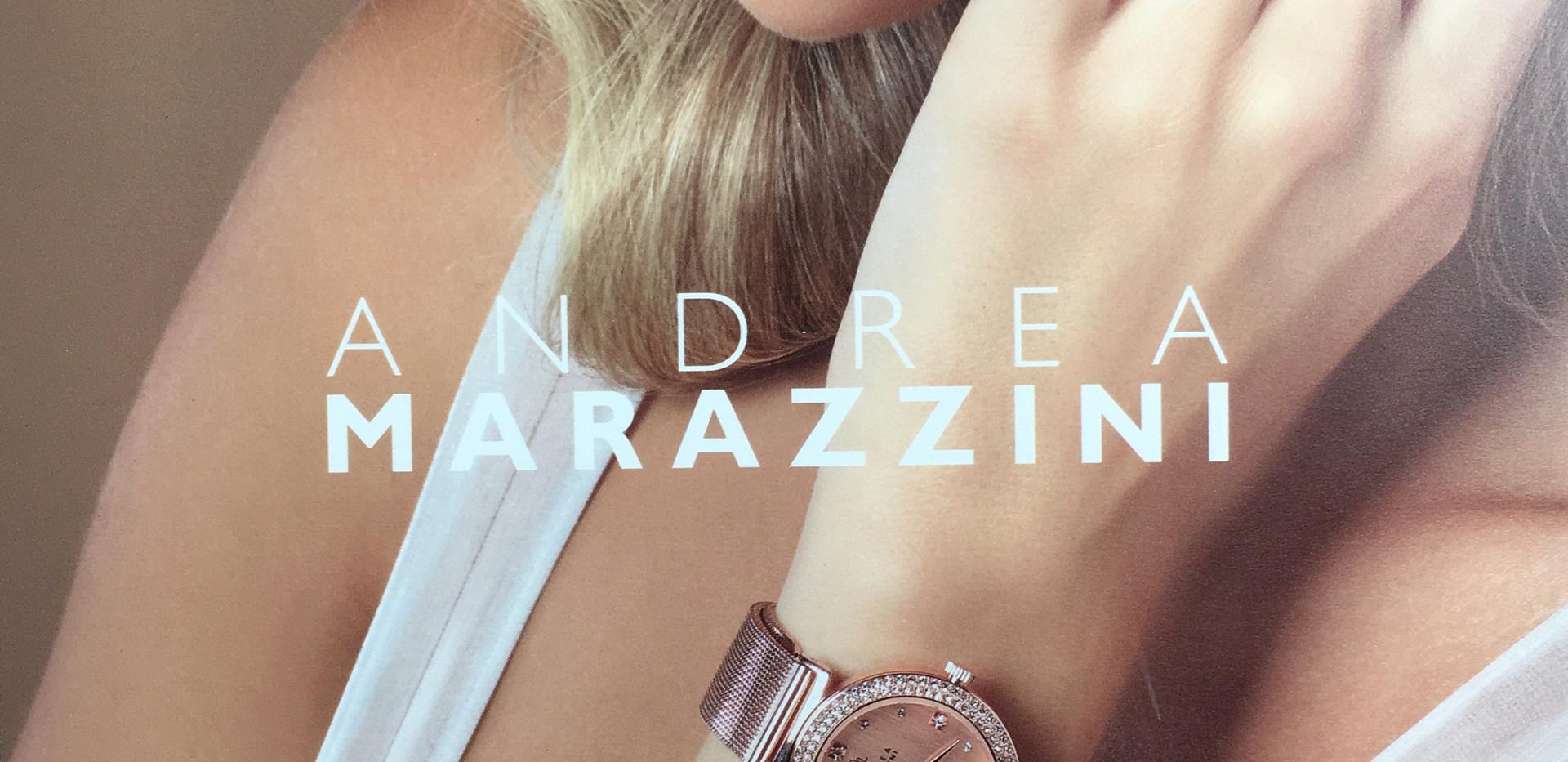 Disponible, les montres Andrea Marazzini. Acier, rose ou jaune, serti de cristaux de swarovski. Bracelet Maille millanaise. Cadeaux idéal pour Noël. Garantie 2 ans 165€