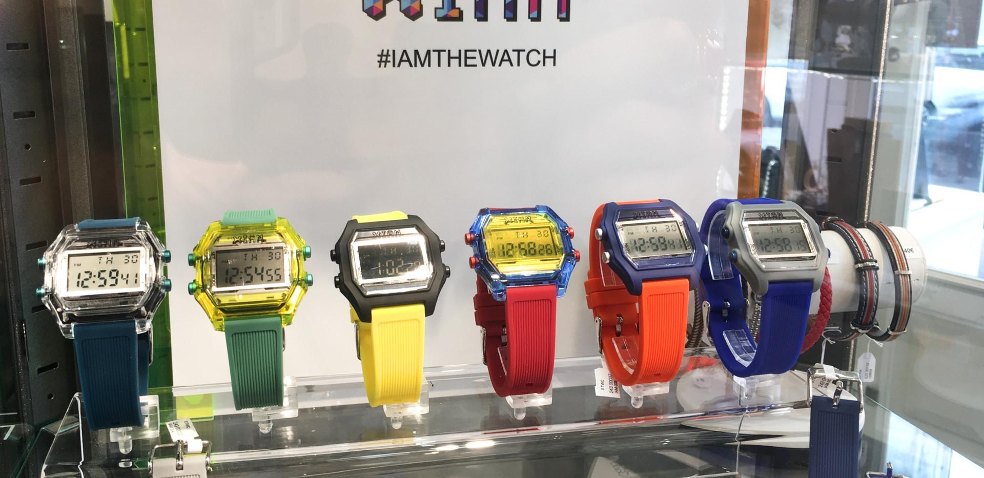 I Am The Watch sélection masculine, montre digitale, chrono, alarm, date jour, heure. Bracelet interchangeable. 49€