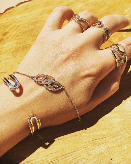Ligne plaqué or jaune oxydes - Bijoux GL Bracelets 110€-75€ Bagues 75€-65€