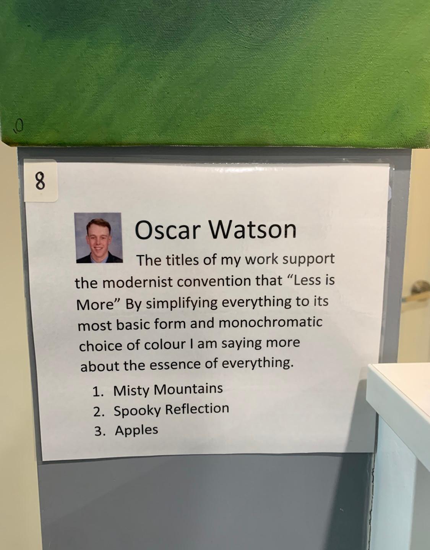 Oscar Watson