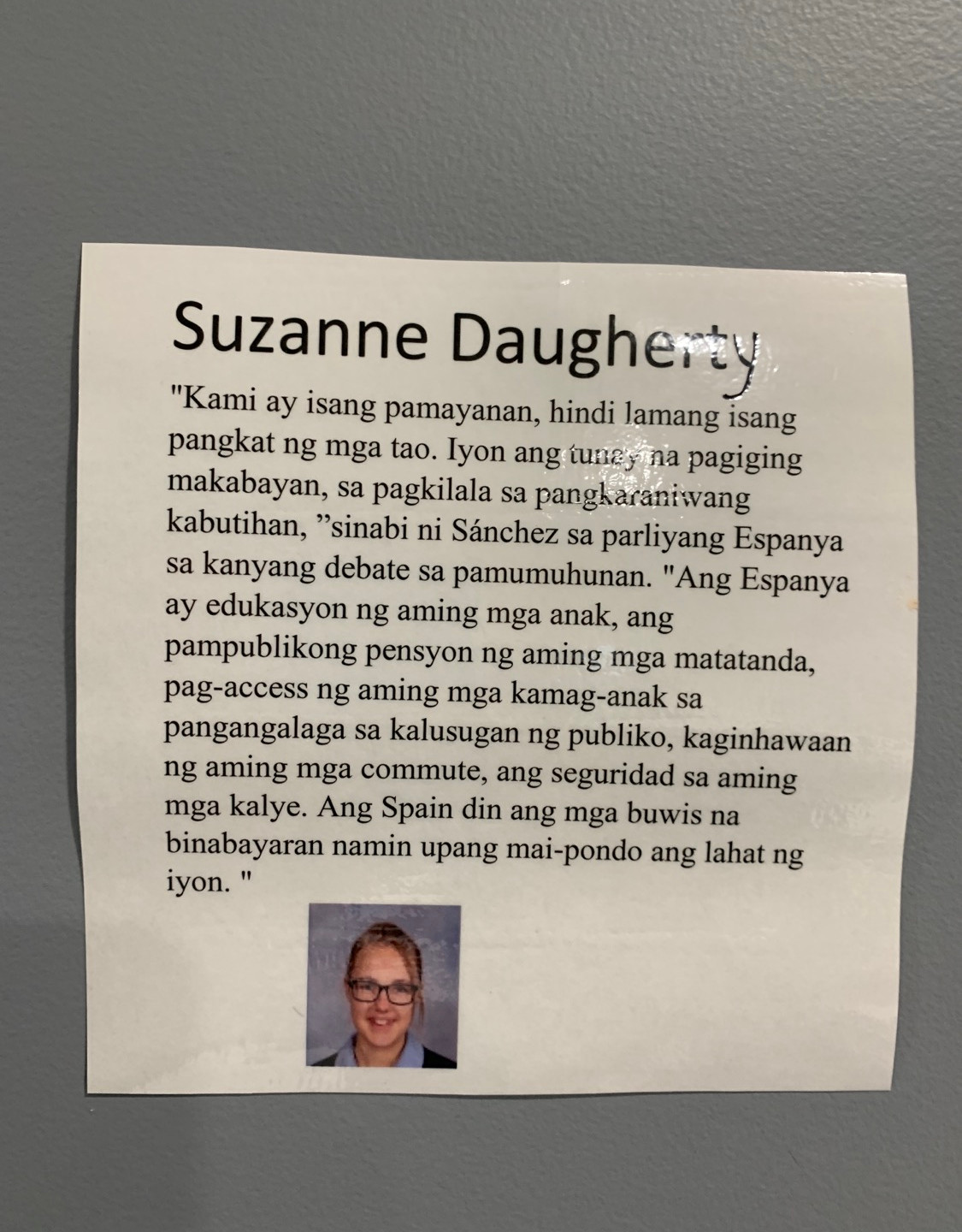 Suzanne Daugherty
