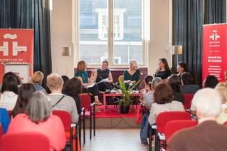 """Peruvian writer participates in colloquium """"Women and Books"""" in the Cervantes Institute of"""