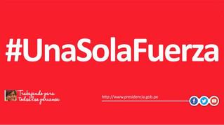 RELIEF CAMPAIGN FOR PERU #UnaSolaFuerza