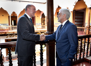 Vice-Chancellors of Peru and the Netherlands Agree to Strengthen the Bilateral Relations Between bot