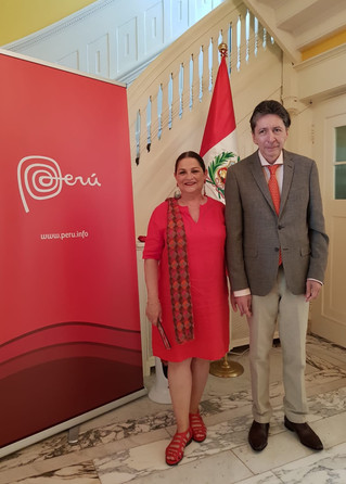 Official Celebrations for the 198th Anniversary of the Independence of Peru in the Kingdom of the Ne