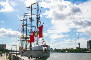 Visit of BAP Unión to the Port of Rotterdam