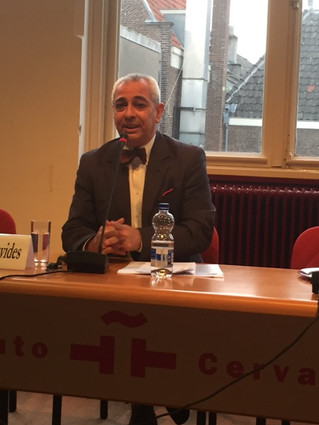 Prominent Writer Jorge Eduardo Benavides speaks in the Netherlands about Gastronomy in the Spanish L