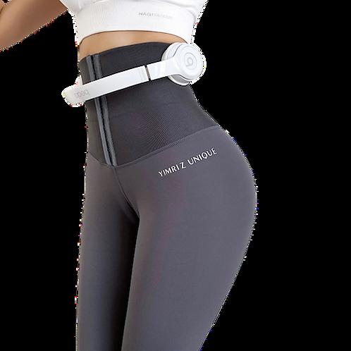 מכנס טייץ עם מחטב לבטן