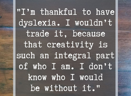 How did dyslexia shape things for you? Creative Chats with Mike Brennan