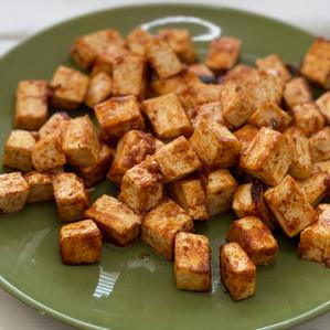 Baked BBQ Tofu