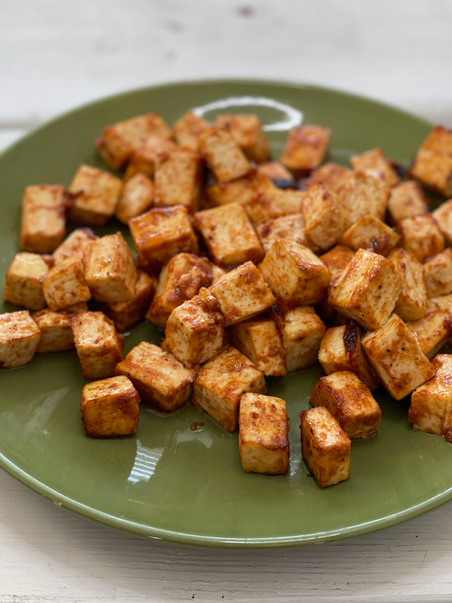 Baked BBQ Tofu