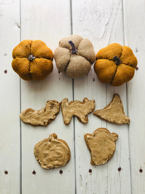 Vegan Pumpkin Fall Cookies
