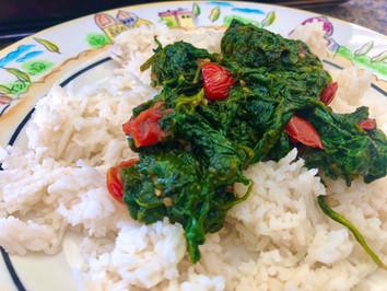 Sautéed Healthy Spinach