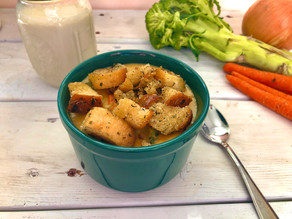 Stovetop Croutons