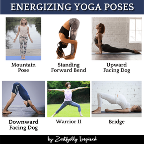 Energizing Yoga Poses