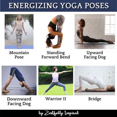 Energizing Yoga Poses