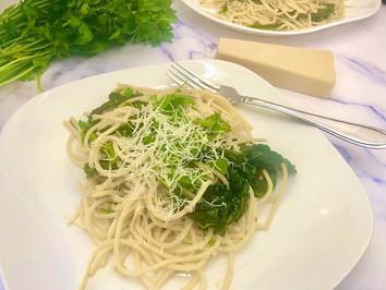 Spaghetti Aglio e Olio e Cavolo