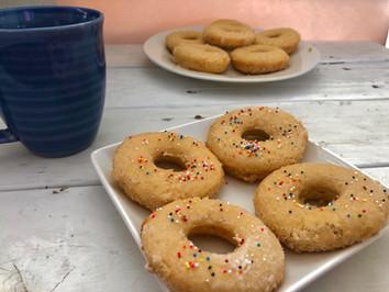 Vegan Sugar Donuts