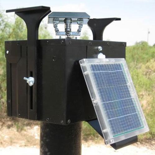 12 Volt Unit w/Motor, THE-ELIMINATOR, THE-TIMER, & Solar Panel