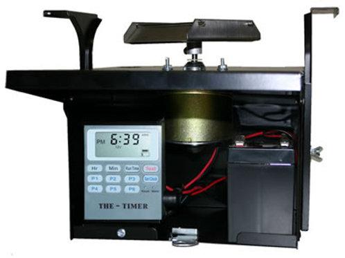 12 Volt Unit w/Motor, Scatter Plate & THE-TIMER