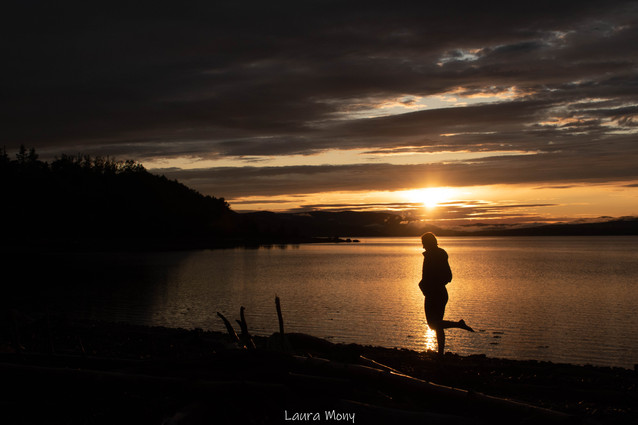 Coucher de soleil de Gaspésien