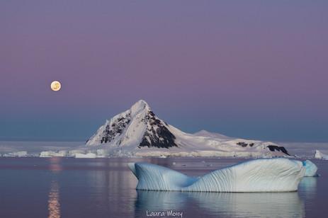 Un autre magnifique matin en Antarctique