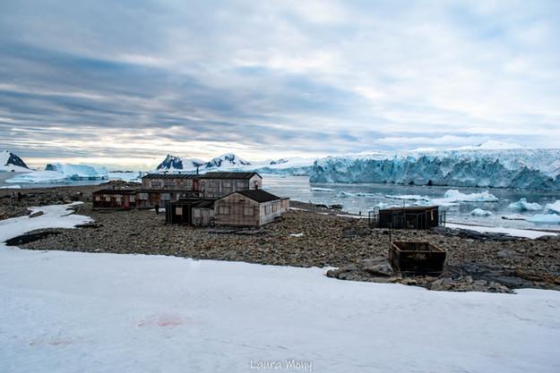 Une trace de l'histoire de l'Antarctique