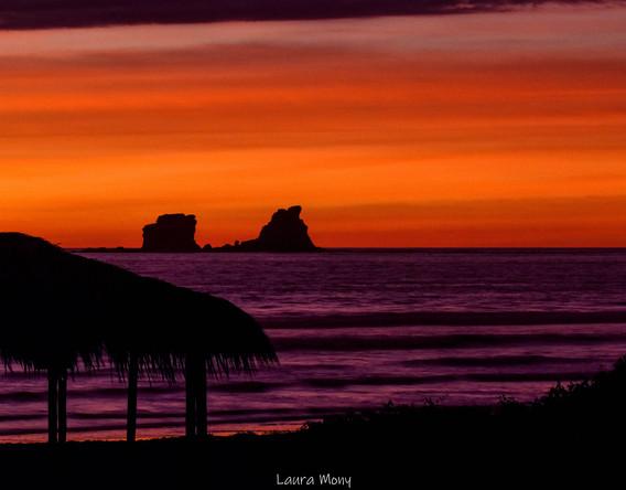 Ecuador sunset!