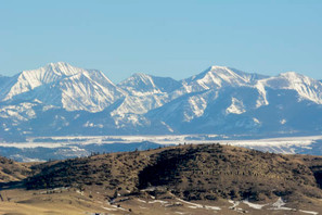 Crazy Mountains near Livingston - George Wuerthner
