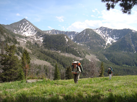 Backpackers in Crazy Mountains - Phil Knight