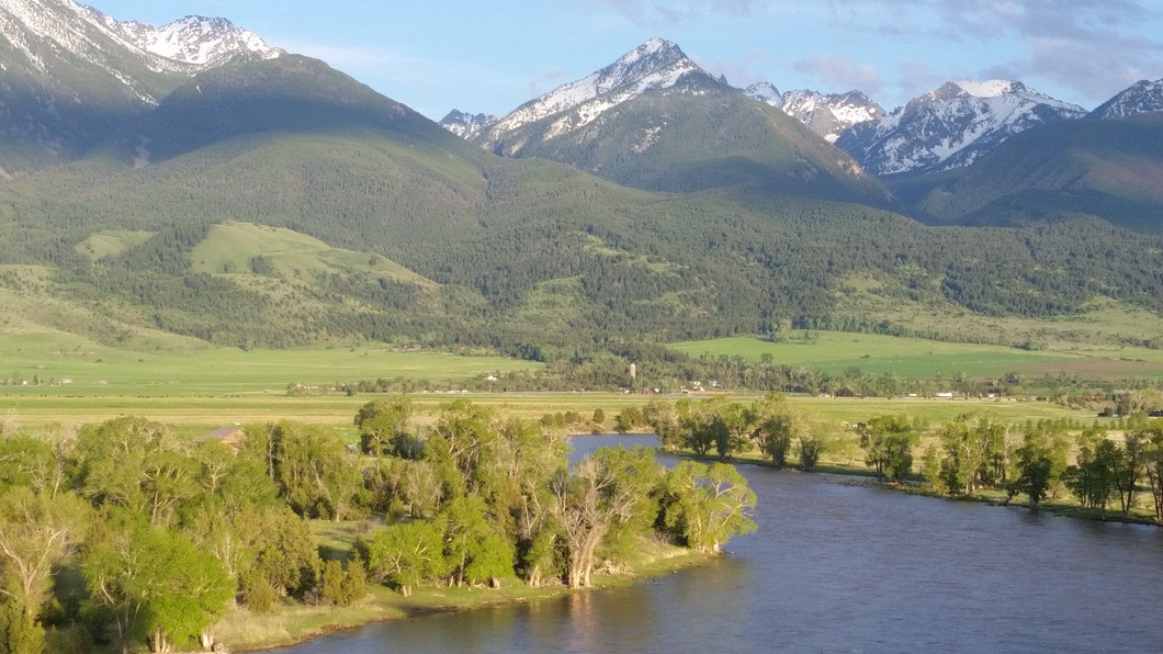 Yellowstone River and Paradise Valley - George Wuerthner
