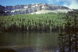 Coffin Lake - Hebgen Lake from Lionhead Peak - George Wuerthner