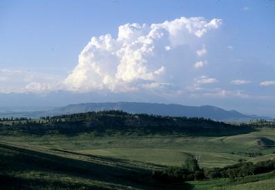 Thunderhead over Crazy Mts. - George Wuerthner