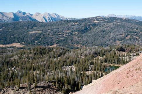 Madison Range from PIka Point - George Wuerthner