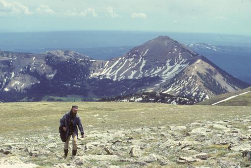 Lionhead Peak - Hebgen Lake from Lionhead Peak - George Wuerthner