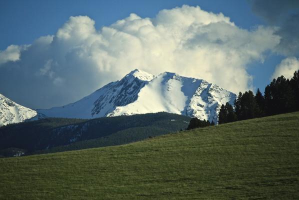 Gallatin Mountains - George Wuerthner