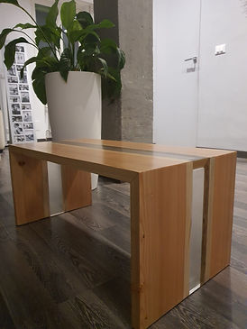 Ice River Siberian Larch Table