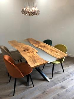 Glazed Olive Table