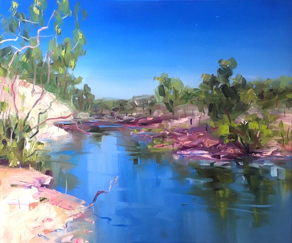 STILL WATER KALBARRI jo meredith art