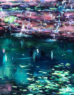 living water circular pool - jo meredith