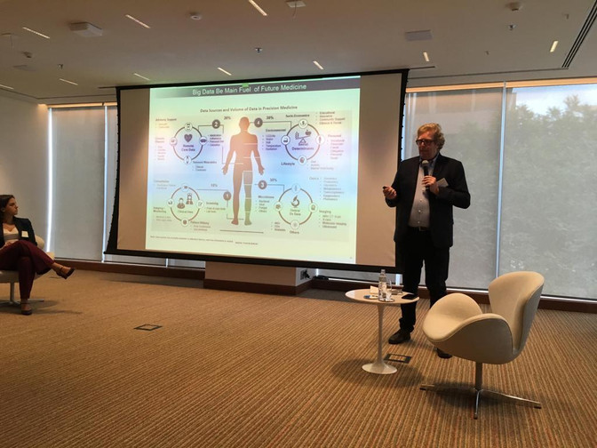 Regulação em Saúde Digital - Participação em Evento Café da Manhã