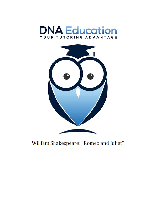 DNA Education 'Romeo & Juliet' Teaching and Student Resource Guide