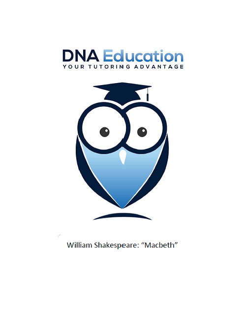 DNA Education 'Macbeth' Teaching and Student Resource Guide