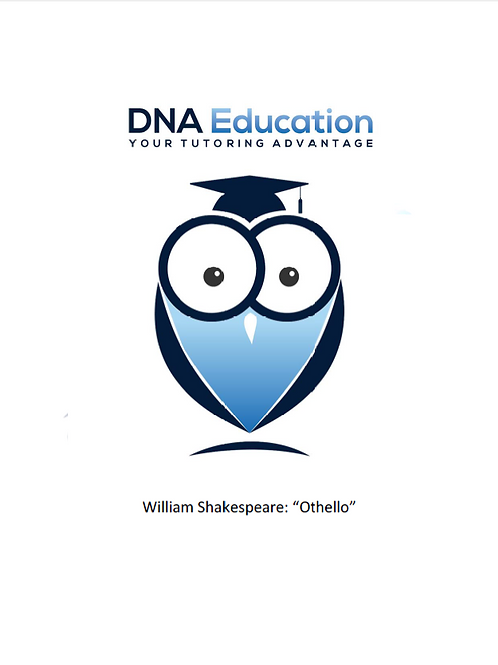 DNA Education 'Othello' Teaching and Student Resource Guide