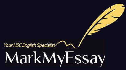 MarkmyEssay online HSC English Specialist