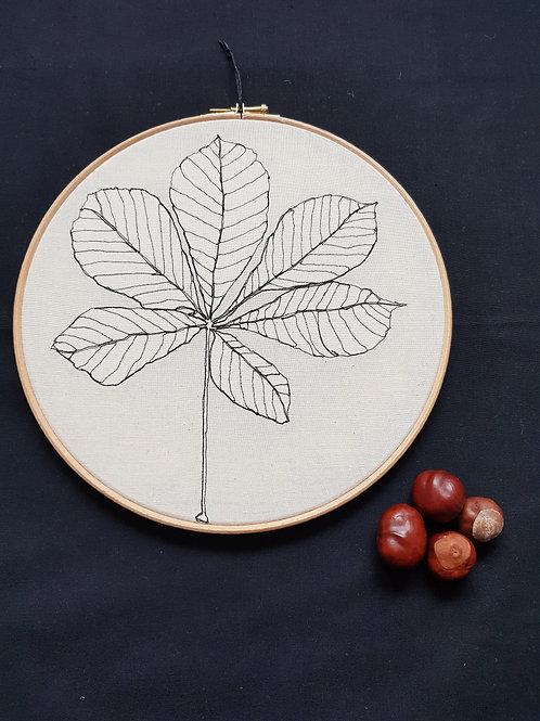 """Leaf 10"""" Hoop"""