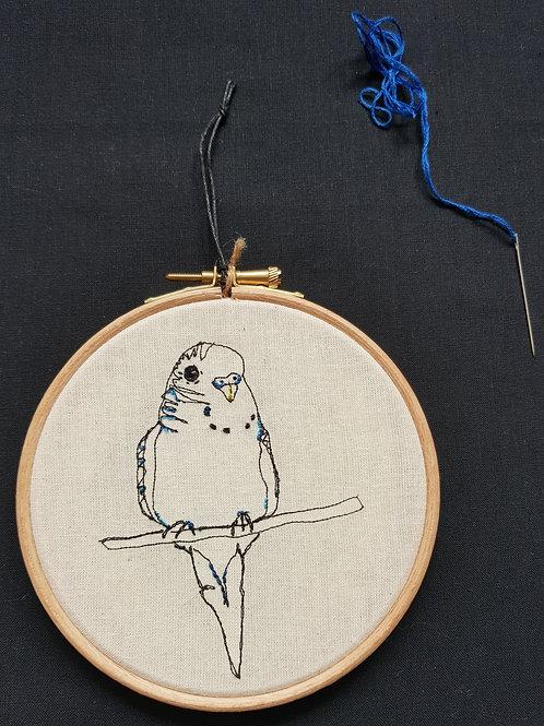 """Budgie Bird 5""""Hoop"""