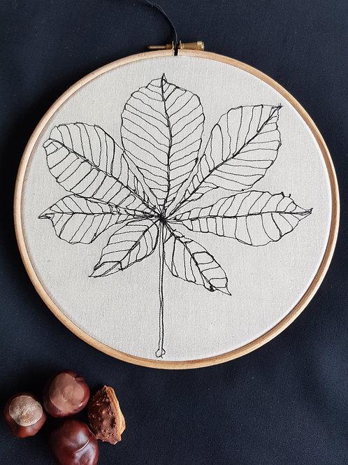 """Leaf 8"""" Hoop"""